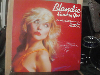 Blondie 12' single Sunday girl with French version