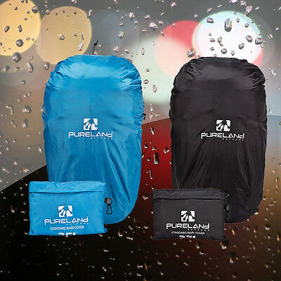 Outdoor Foldable Dust Rain Cover Backpack Rucksack Resist WaterProof Bag 35L