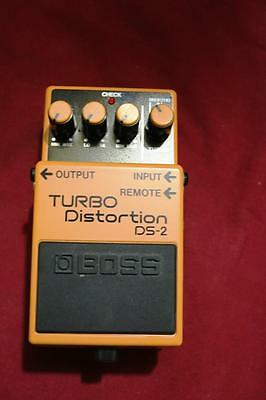 Boss Turbo Distortion Ds 2 Foot Pedal