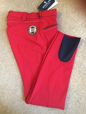 Kingsland Kelly Breeches - Red Chilli Pepper - 154-BR-325 - Size 38 (UK 12)