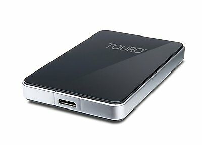 HGST Touro S 500GB USB3 Portable External Hard Drive 7200rpm