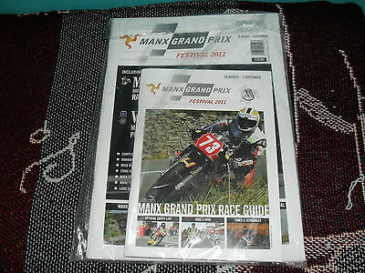 2011 Manx Grand Prix Motor Cycle Programme & Guide - New And Sealed