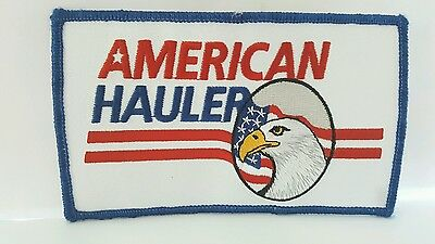 Advertising American Hauler Color Patch 5 x 3 inches