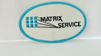 Advertising Matrix Service Color Patch 4 x 2 1/2 inches