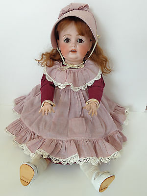 Antike Puppe Porzellankopfpuppe adorable antique doll angelic face