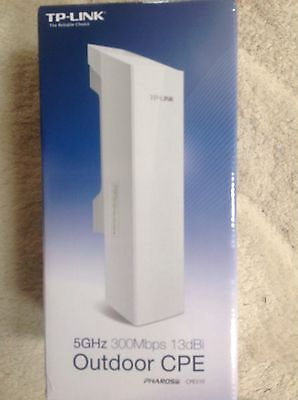 TP-LINK CPE510 5GHz 300Mbps 13dBi Wireless Outdoor CPE (White)