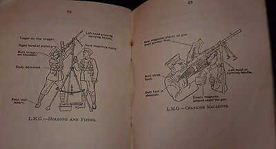 WW2 war issue training record book for all small arms armament