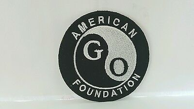 Advertising American GO Color Patch 3 x 3 inches