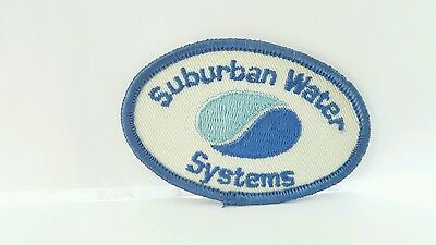 Advertising Suburban Water Systems Color Patch 2 x 3 inches