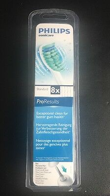 Philips Sonicare HX6018/26 Pro Results Standard Pack Of 8 - New Sealed