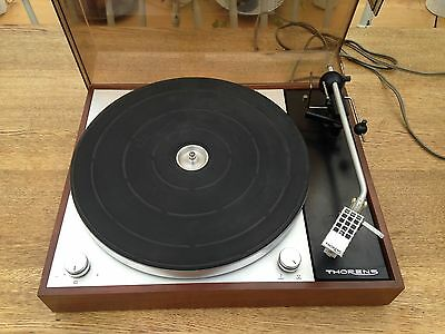 THORENS TD 150 MKII record player TURNTABLE + Audio Technica & Shure Cartridge