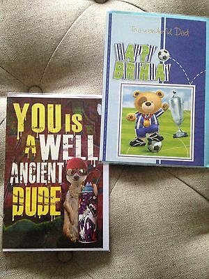 New Assorted Male Birthday Cards - 2
