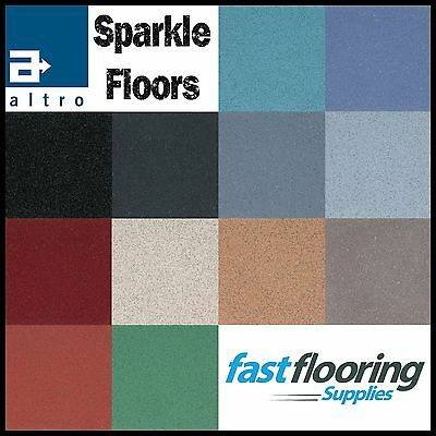 Altro Sparkly Bathroom Safety Flooring / Glitter Flooring Wetroom Vinyl