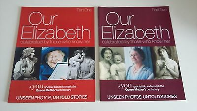 The Queen Mother's Centenaray 2 x Glossy Magazines