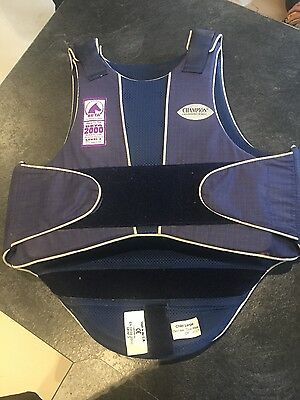 Champion Horse Riding Body Protector. Size Child-Large