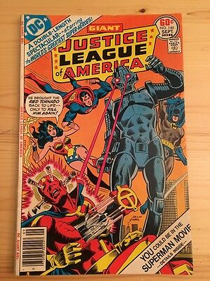 "1977 DC Comics #146 JUSTICE LEAGUE of AMERICA ""Inner Mission"""