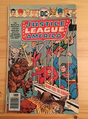 "1976 DC Comics #131 JUSTICE LEAGUE of AMERICA ""The Beasts Who Thought Like Men"""