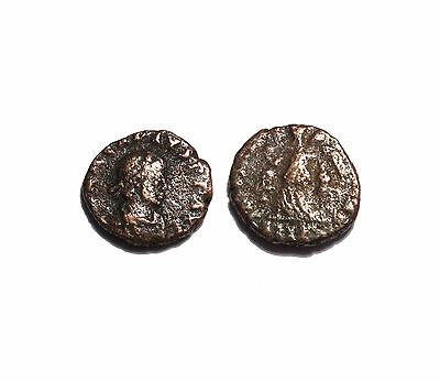 Roman Imperial coin Arcadius One of last emperors Victory get coin shown #47