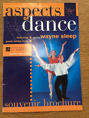 Aspects of Dance, Wayne Sleep Programme, Signed, City Ballet of London