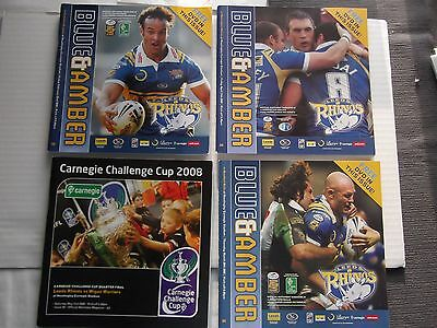 Leeds Rhions 4 programmes collection 2 come with CDs of games 2008