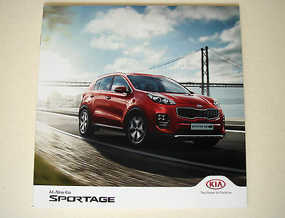 Kia . Sportage . All new Kia Sportage . May 2016 Sales Brochure