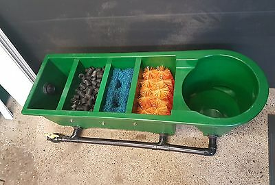 Kockney Koi Yamitsu 5000v Pond Filter, All Media, New Lid, New Fitments, VGC.