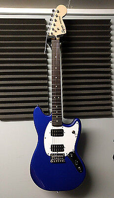 Squier By Fender Mustang Hh Imperial Blue Electric Guitar - Brand New Boxed