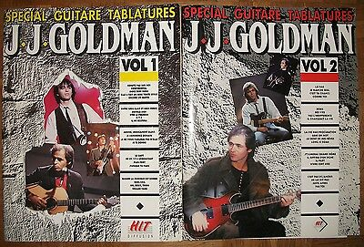 J.J.GOLDMAN** SPECIAL GUITARE TABLATURES ** Editions Hit Diffusion Volume 1&2