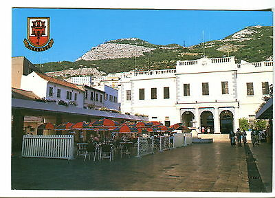 Rear of House of Assembly, Gibralter. Used Postcard