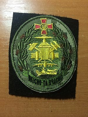 PATCH MILITARY UKRAINE - WAR EAST conflict - National Support unit -current 2016