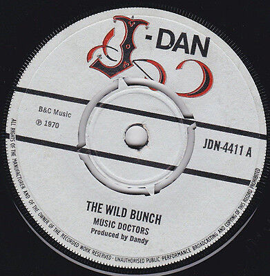 Music Doctors / Israelites * The Wild Bunch / Born To Be Strong * J-Dan Jdn-4411