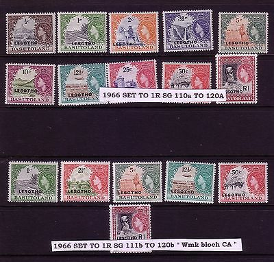 1966 both set to 1R in superb u/mint condition take a L@@K