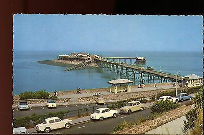 The Old Pier, Weston Super Mare. Used Postcard