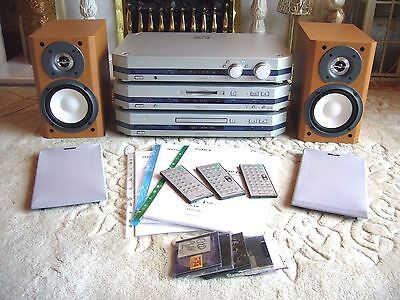 Audiophile SONY *LISSA* Separates System CD/MD/Receiver with SONY speakers