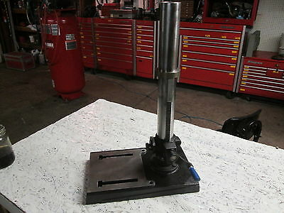 Delta Rockwell  Drill Press Base Column And Rack Pinion DP250 DP 250 Pedestal