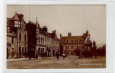 THE SQUARE, HUNTLY: Aberdeenshire postcard (C25790)