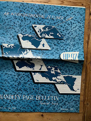 Handley Page HP97 Intercontinental Double Decker Airliner Sept 1952