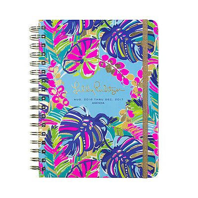 LILLY PULITZER-LAST 4! - 2017 Agenda - 17 month Planner - Exotic Garden - Large