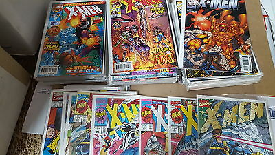 X-men Comic Lot of 108 1-154 vf+ bagged boarded from 1991 series