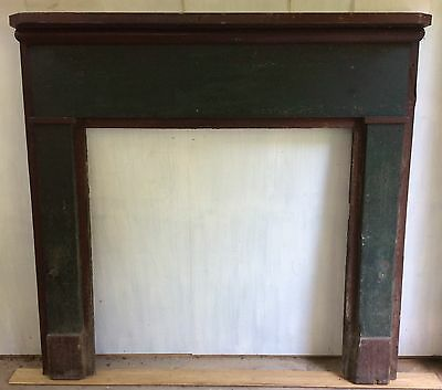 19th Century Fireplace Mantel/Surround - Exceptional Original Painted Surface