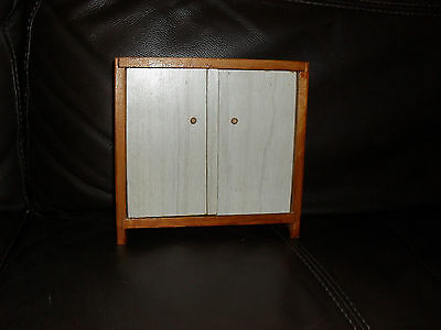 Double Wood Wardrobe 6'' inch High 6 & 1/4'' wide Ideal for Pippa/Dawn/Maire DOL