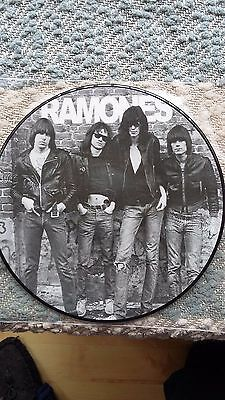 "The Ramones  Rare 12"" Picture Disc, Unplayed."