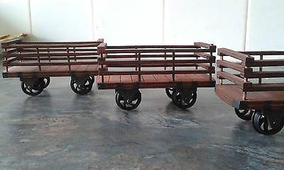 Welsh slate wagons for 16mm scale 32mm narrow gauge