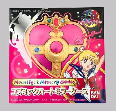 Awesome Sailor Moon 20th Anniversary Cosmic Heart Compact Mirror Case -BRAND NEW
