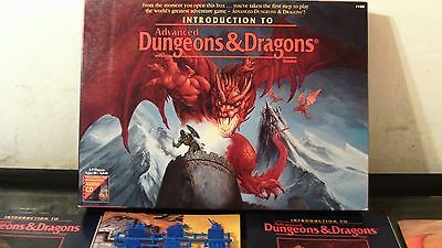 Rare Vintage Dungeons & Dragons Board Game 1995 Unplayed Condition D&g Advanced