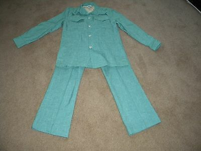 Vintage Mens  Small   Maine Guide Take 5   Suit Jacket And Pants 30 X 29
