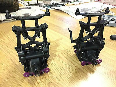 HPI Savage X Differential Housings & Shock Towers