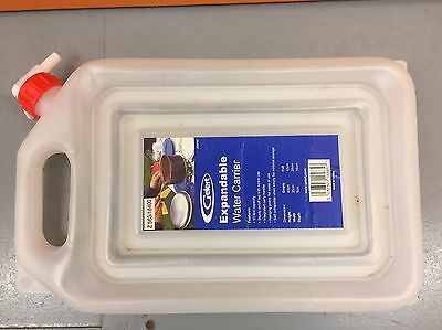 Gelert Expandable Water Container 10L with Tap