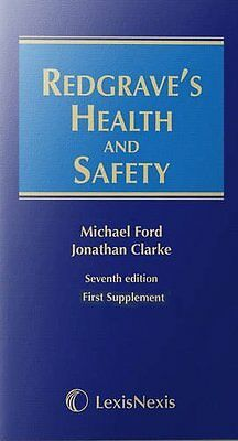 Redgrave's Health and Safety Book by Ford  Michael (Paperback) 9781405763349