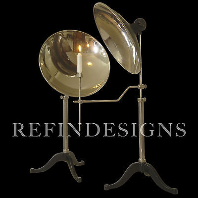 Pr Welch Magnifying Illuminating Concave Reflector Mirrors Laboratory Scientific